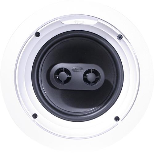 """Klipsch - 6-1/2"""" 2-Way In-Ceiling Speaker (Each) - Multi"""