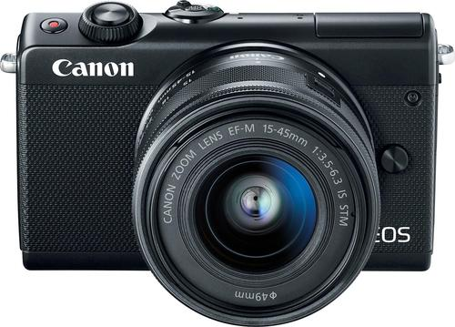 Canon EOS M100 Mirrorless Camera with EF-M 15-45mm IS STM Zoom ...