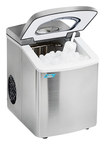 """Mr. Freeze - 9.8"""" 26-Lb. Portable Icemaker - Stainless-Steel"""