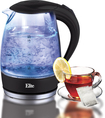 Elite Platinum - 7.2-Cup Electric Kettle - Black