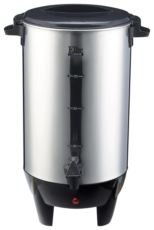Elite Cuisine - 30-cup Coffee Urn - Stainless-steel