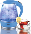 Elite Platinum - 7.2-Cup Electric Kettle - Blue
