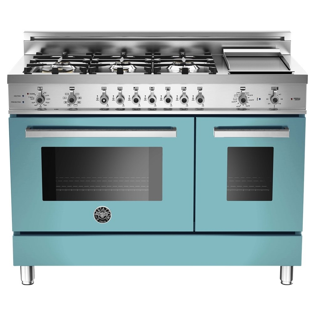Bertazzoni - Self-Cleaning Freestanding Double Oven Dual Fuel ...