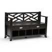 Simpli Home - Sea Mills Entryway Bench