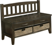 Simpli Home - Williamsburg Entryway Storage Bench
