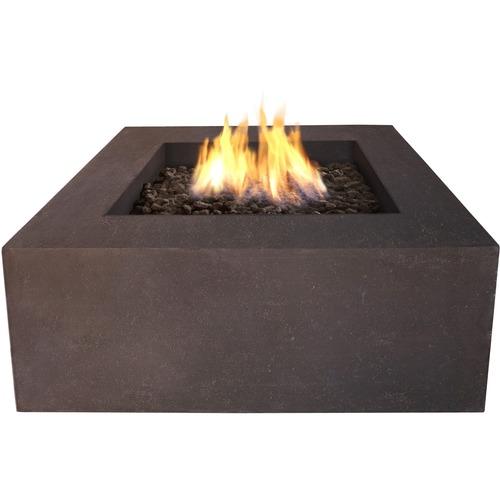 Real Flame - Baltic Gas Fireplace - Outdoor Usage - Heating Capacity 14.65 kW - Kodiak Brown