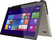 "Toshiba - Radius 2-in-1 15.6"" Touch-Screen Laptop - Intel Core i5 - 8GB Memory - 750GB Hard Drive - Satin Gold"