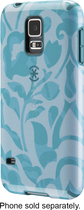 Speck - Case for Samsung Galaxy S 5 Cell Phones - Blue/Green