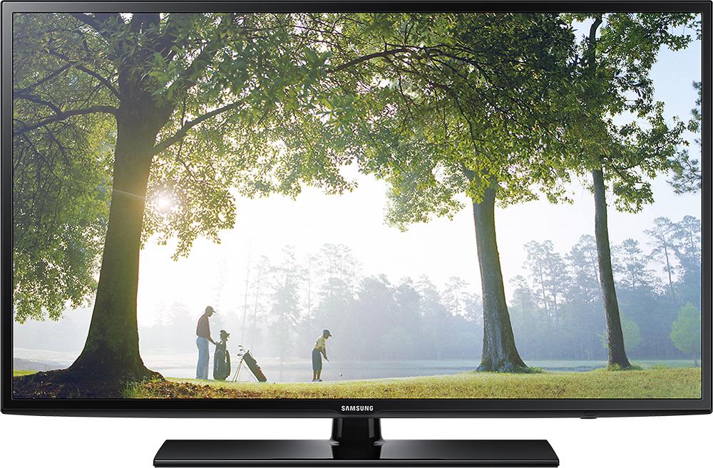 "Samsung - 46"" Class (45-9/10"" Diag.) - LED - 1080p - Smart - HDTV - Black"