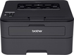 Brother - HL-L2360DW Wireless Compact Black-and-White Laser Printer - Black