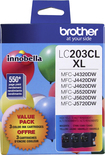 Brother - LC203CL XL 3-Pack High-Yield Ink Cartridges - Cyan/Magenta/Yellow