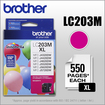 Brother - LC203M XL High-Yield Ink Cartridge - Magenta