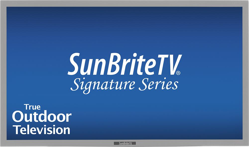 "SunBriteTV - Signature Series - 46"" Class (46"" Diag.) - LED - 1080p - 60Hz - HDTV - Silver"
