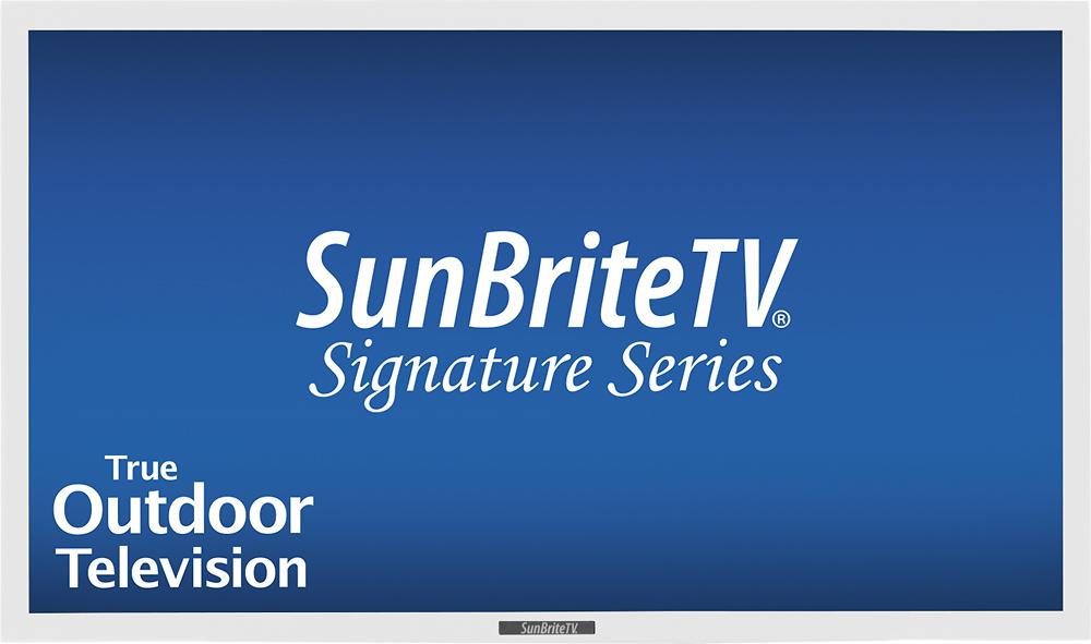 "SunBriteTV - Signature Series - 46"" Class (46"" Diag.) - LED - 1080p - 60Hz - HDTV - White"
