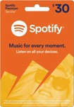 Spotify - 3-Month Spotify Premium Music Download Card