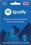 Spotify - 6-Month Spotify Premium Music Download Card