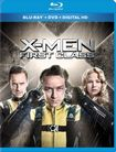 X-men First Class [2 Discs] [includes Digital Copy] [ultraviolet] [blu-ray/dvd] 6140355