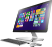 "Lenovo - 23.8"" Touch-Screen All-In-One Computer - 8GB Memory - 1TB Hard Drive - Black/Silver"