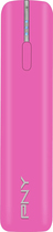 PNY - Power Pack T2200 USB Rechargeable External Battery - Pink
