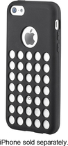 Insignia™ - Perforated Case for Apple® iPhone® 5c - Black