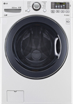 Lg - 4.5 Cu. Ft. 10-cycle High-efficiency Front-loading Washer - White