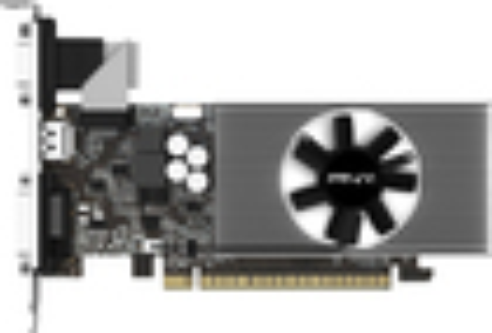 PNY - NVIDIA GeForce GT 740 2GB DDR3 PCI Express 3.0 Graphics Card - Black