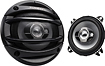 Kenwood - Sports 3-Way Speakers (Pair) - Black