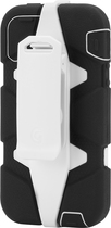 Griffin Technology - Survivor Case for Apple® iPhone® 5 and 5s - Black/White