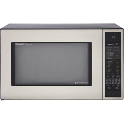 Sharp - Microwave Oven - Stainless Steel (Silver)