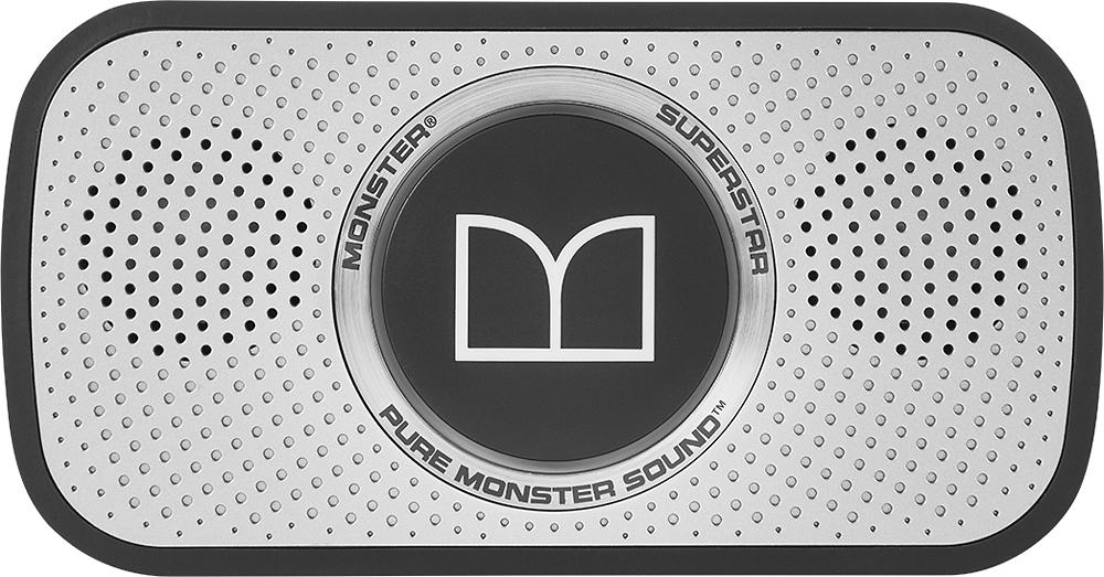 Monster - Superstar Bluetooth Speaker - Black/Space Gray