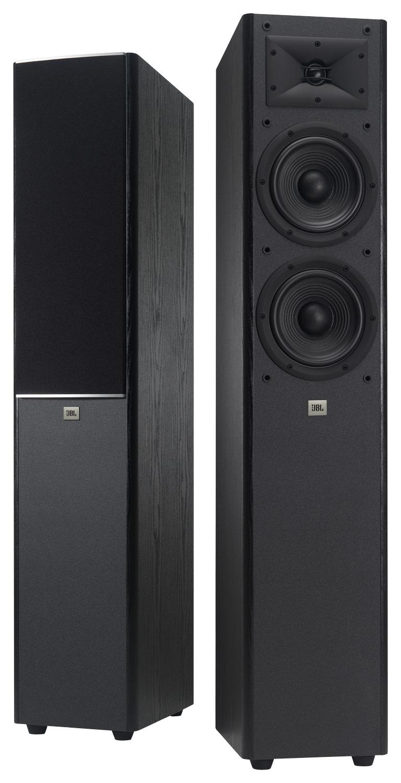 """Jbl - Arena 180 Dual 7"""" 2-way Floorstanding Speaker  - Black"""