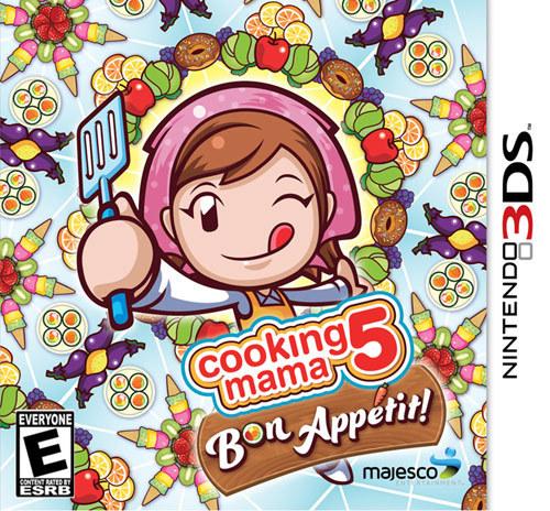 Cooking Mama 5: Bon Appétit - Nintendo 3DS