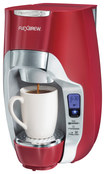 Hamilton Beach - Flexbrew Single-serve Coffeemaker - Red/silver 6199336