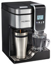Hamilton Beach - Flexbrew Single-serve Coffeemaker - Black/silver 6201131