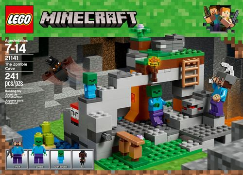 LEGO Minecraft The Zombie Cave Multi 6212474 - Best Buy