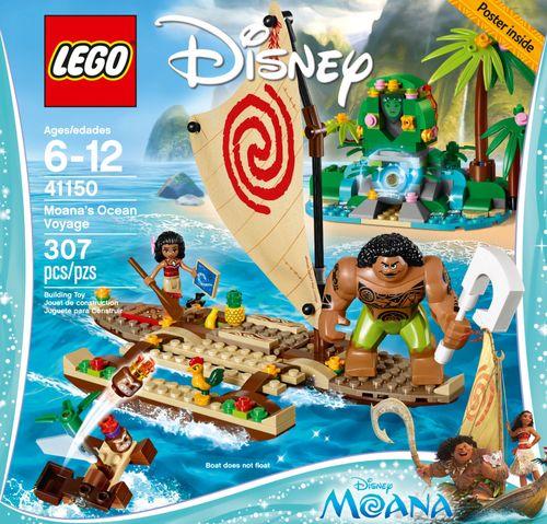 LEGO Disney Moana's Ocean Voyage Multi 6175088 - Best Buy