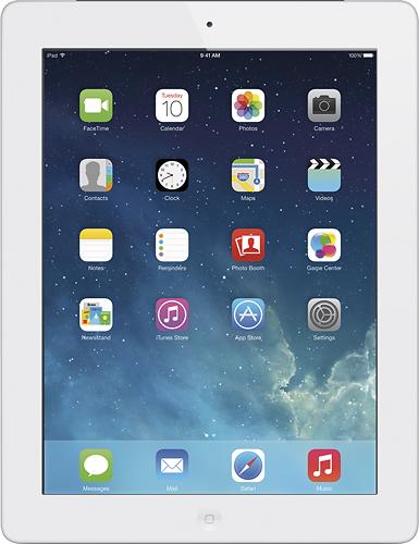 Apple - Ipad With Retina Display With Wi-fi + Cellular - 64gb - (verizon Wireless) - White
