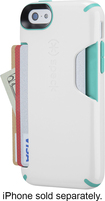 Speck - Shellcard Case for Apple® iPhone® 5c - White/Blue
