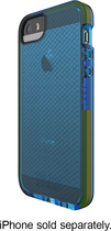Tech21 - Impact Check Shell Case for Apple® iPhone® 5 and 5s - Blue