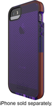 Tech21 - Impact Check Case for Apple® iPhone® 5 and 5s - Purple
