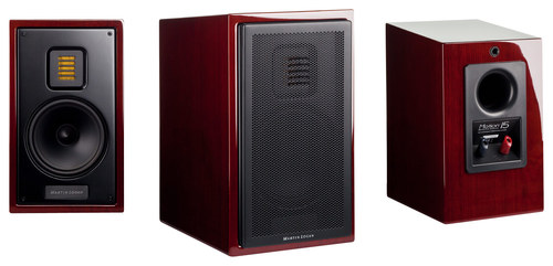 MartinLogan - Motion 15 5-1/4 2-Way Bookshelf Speaker (Each) - Black Cherrywood