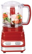Brentwood - 3-Cup Food Processor - Red