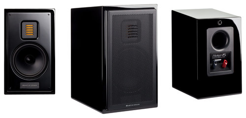 MartinLogan - Motion 15 5-1/4 2-Way Bookshelf Speaker (Each) - Black