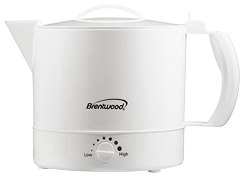 Brentwood - 32-Oz. Hot Pot - White