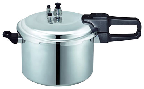 Brentwood - 28-3/4-Cup Pressure Cooker - Silver