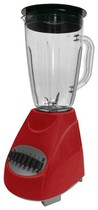 Brentwood - 12-Speed Blender - Apple Candy Red