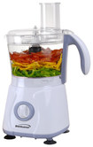 Brentwood - 6-1/4-Cup Food Processor - White