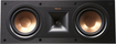 "Klipsch - Reference Dual 5-1/4"" Center-Channel Speaker - Black"