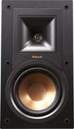 "Klipsch - Reference 5-1/4"" Bookshelf Speakers (Pair) - Black"