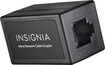 Insignia™ - Cat-5/5e RJ-45 In-Line Coupler - Black